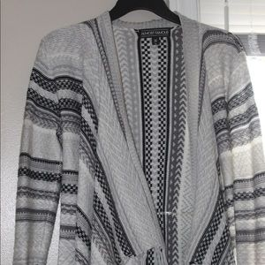 Open front cardigan style